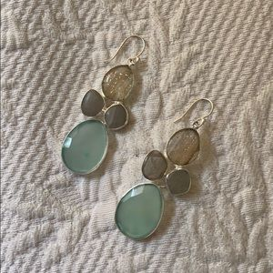 Colorful Blue Earrings